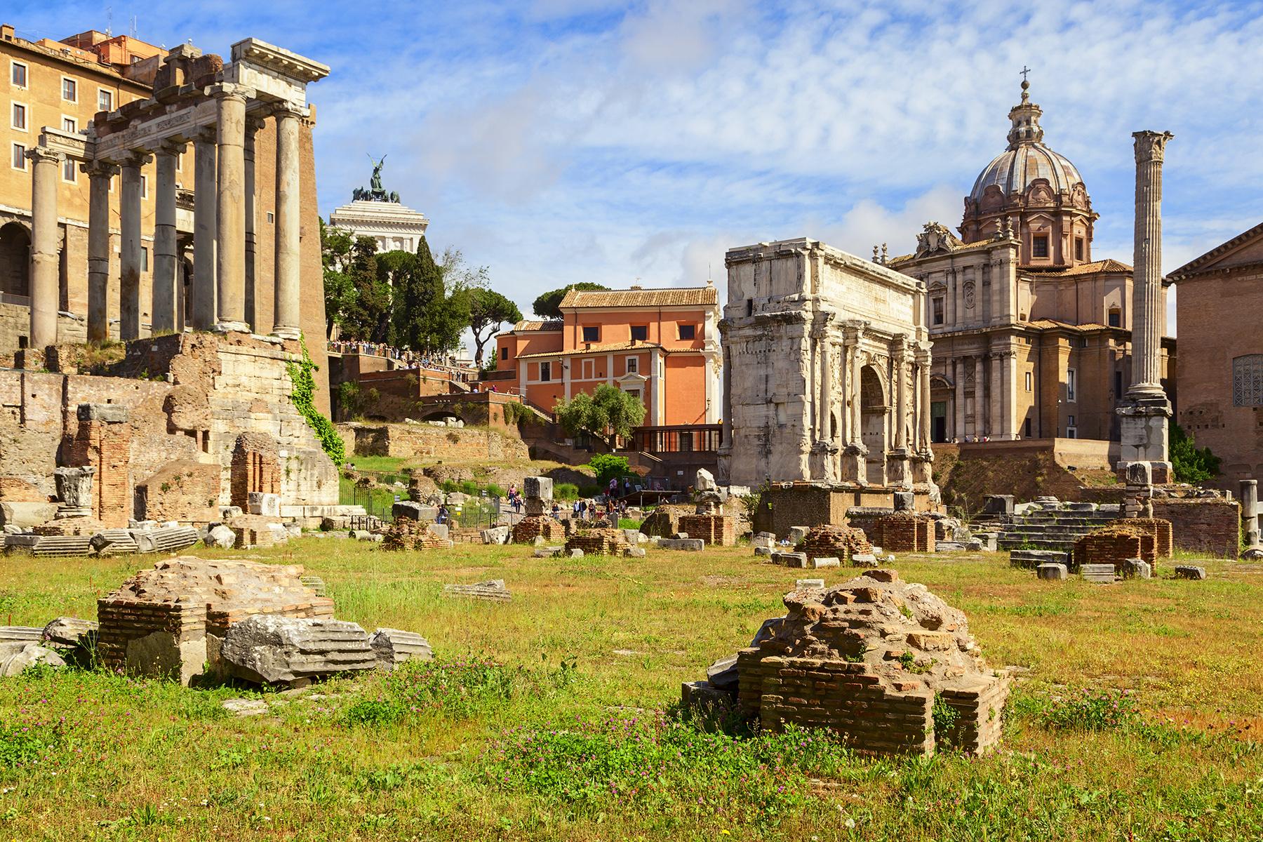 Rome : de l'Antiquité à nos jours